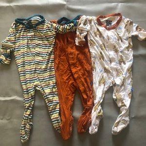 Kickee Pants Bundle - Sz 0-3 months footies
